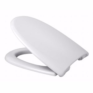 Alterna Baltiq II toiletsæde med faste beslag, hvid
