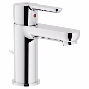 Alterna Image Håndvaskarmatur med bundventil krom, 1-greb, flexslange. 3/8