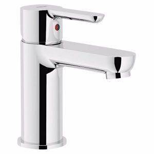 Alterna Image Håndvaskarmatur uden bundventil krom, 1-greb, flexslange. 3/8