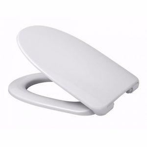 Alterna Polar toiletsæde med faste beslag, hvid
