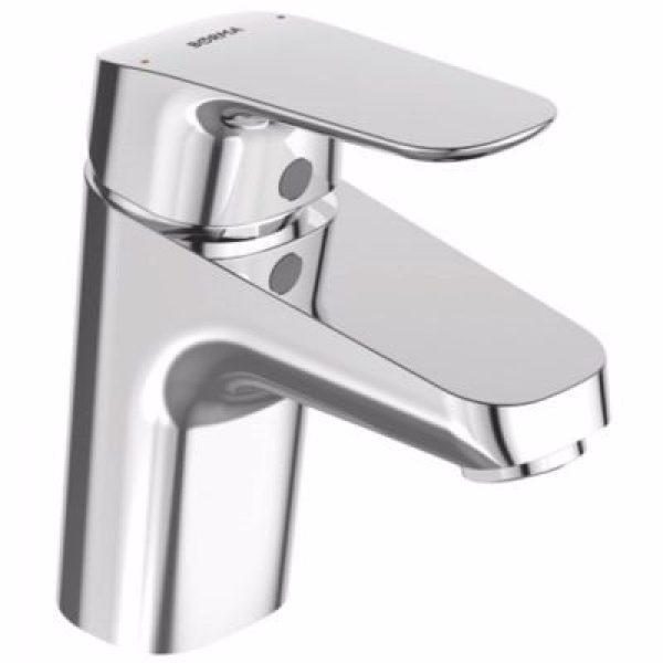 Børma Ceraflex Håndvaskarmatur med push open bundventil 1-grebs. Krom