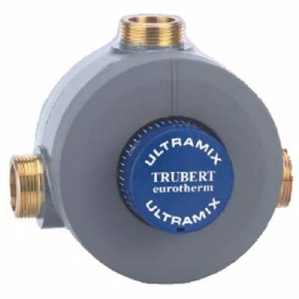CMA Eurotherm termostat 1 1/2'', Blandeventil - Kap: 8-260 l/pr. minut - m/kontraventiler