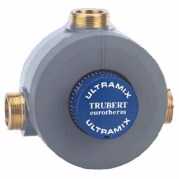 CMA Eurotherm termostat 1 1/4'', Blandeventil - Kap: 8-175 l/pr. minut - m/kontraventiler