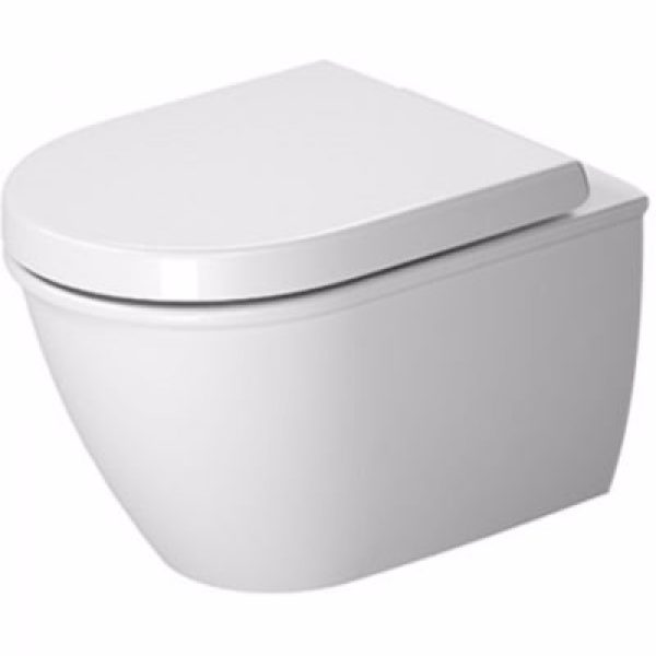 Duravit Darling New compact vægtoilet Med WonderGliss