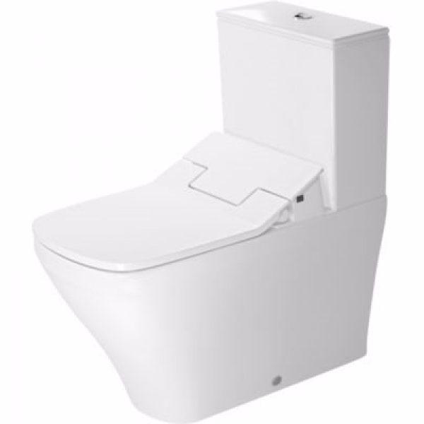 Duravit DuraStyle toilet 72cm skål 370x700mm skj. uni-lås gulvst f/SensoWash