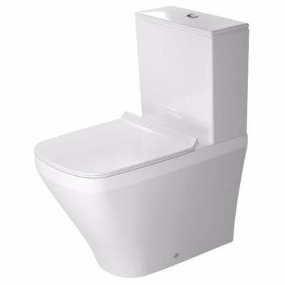 Duravit DuraStyle toilet B-T-W skål 370x630mm skj. uni-lås m/WonderGliss back-to-wall