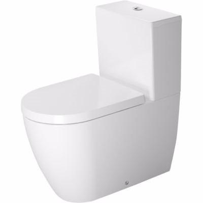 Duravit ME by Starck toilet 370x650mm uni-lås vandret eller lodret afløb m/WonderGliss