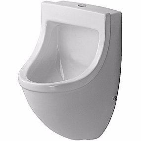 Duravit Starck 3 Urinal. Vandtilslutning fra oven. Hvid