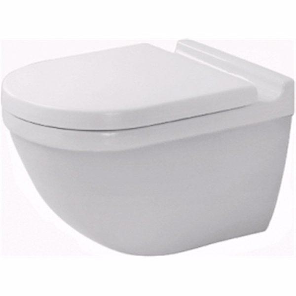 Duravit Starck 3 toilet 360x540mm med skjult montering og Wondergliss