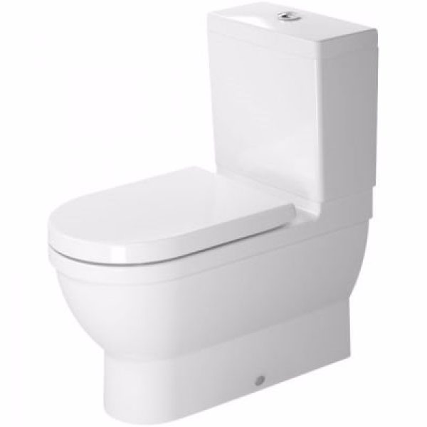 Duravit Starck 3 toilet B-T-W skjult uni-lås 70,5x37cm vandr el. lodr. afl. m/WonderGliss