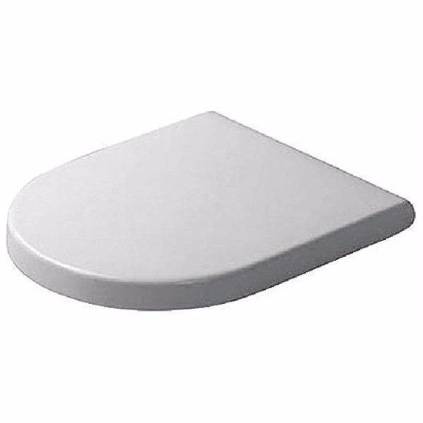 Duravit Starck 3 toiletsæde hvid med SoftClose