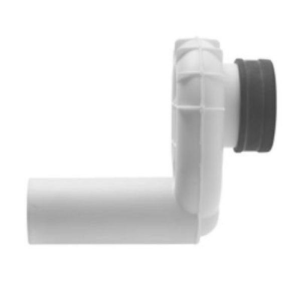 Duravit Vandlås til urinal med vandret udløb