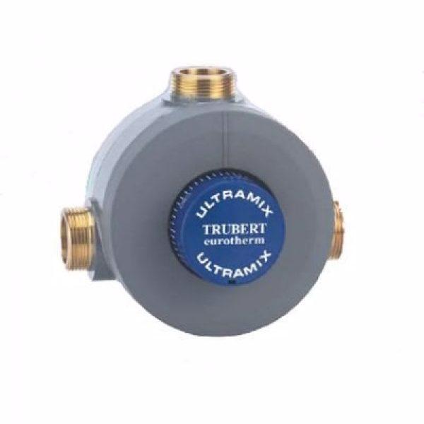 Eurotherm termostat 2'' Blandeventil - Kap: 8-400 l/pr. minut - m/kontraventiler