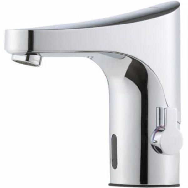 FMM 9000E Tronic berøringsfrit håndvaskarmatur med temperaturgreb til netdrift ex. transformator