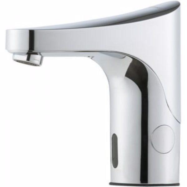 FMM 9000E Tronic berøringsfrit håndvaskarmatur til forblandet vand. Til batteridrift
