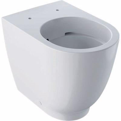 GEBERIT ACANTO toiletskål 350x425x510mm, forhøjet, back to wall, rimfree, hvid
