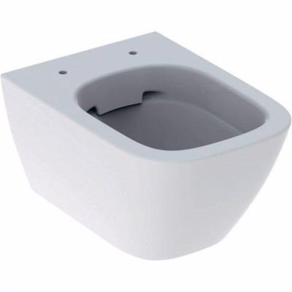 GEBERIT SMYLE hængeskål 350x330x490mm, kort model, rimfree, hvid