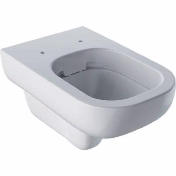 GEBERIT SMYLE hængetoiletskål 350x340x540mm, rimfree, hvid