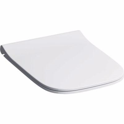 GEBERIT SMYLE toiletsæde 352x450x45mm med låg, hvid
