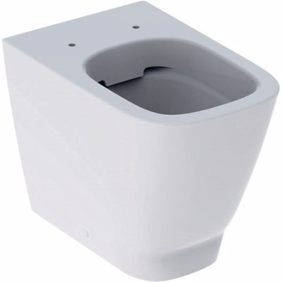 GEBERIT SMYLE toiletskål 350x410x540mm, back to wall, rimfree, hvid