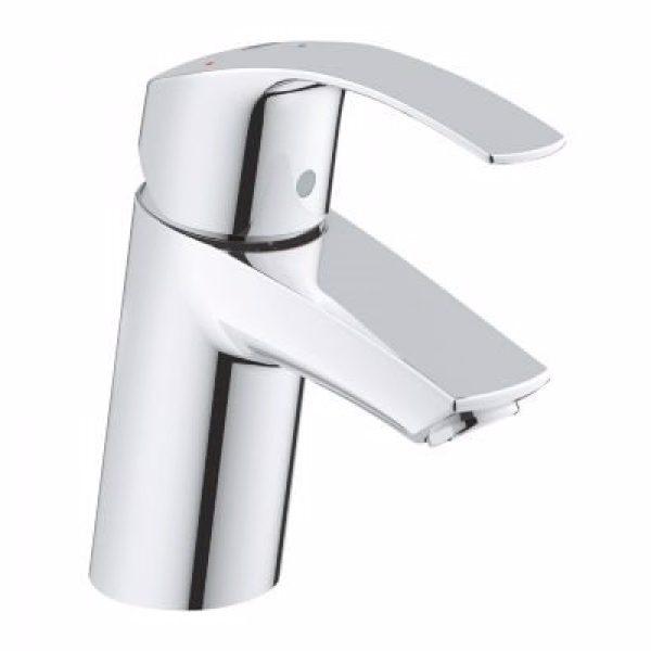 GROHE Eurosmart håndvaskarmatur str.S, EcoJoy 5,7L. Med push-up bundventil, Koldstart