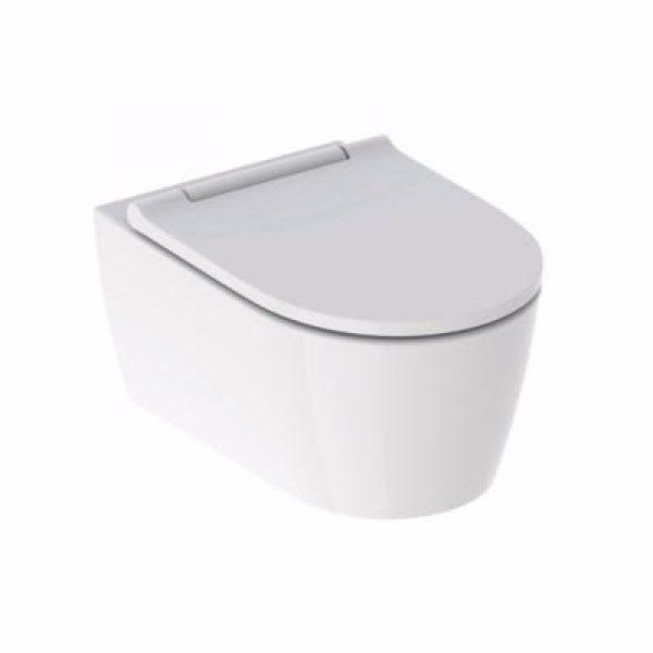 Geberit ONE hængeskål & sæde 370x343x540mm, hvid