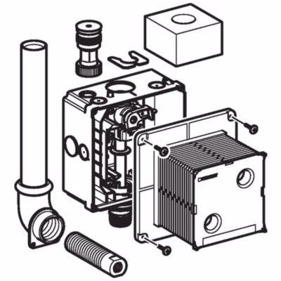 Geberit Preda/Selva box til urinalstyring
