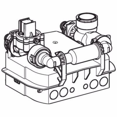 Geberit Preda/Selva urinalstyring med akumolator