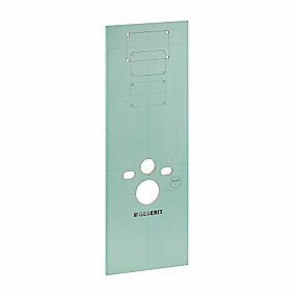 Geberit gipspanel med udsparinger til WC-element 130 x 46 x 1,8cm