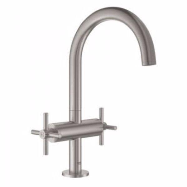 Grohe Atrio New håndvaskarmatur 2 greb. Supersteel
