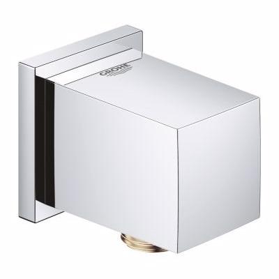 Grohe Euphoria Cube udløb Tilslutningsbøjning med bruserholder, forkromet
