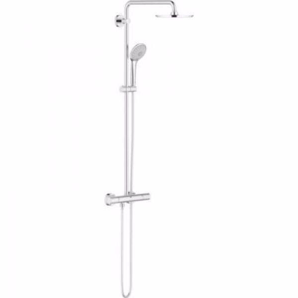 Grohe Euphoria XXL System 210 Brusesystem med termostat til vægmontering