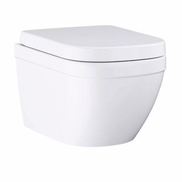 Grohe Euro Ceramic WC væghængt Euro keramik Væghængt WC Til indbygget cisterne