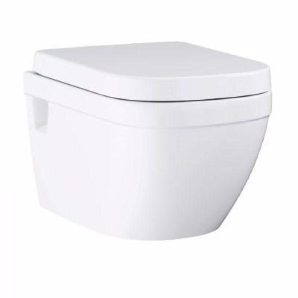 Grohe Euro Ceramic hængeskål & toiletsæde med soft close, 3/5 l