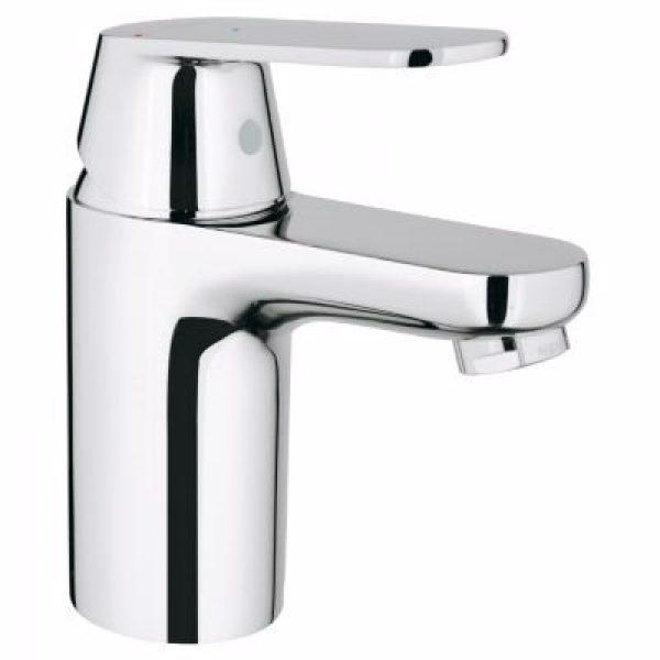Grohe Eurosmart Cosmopolitan Håndvaskarmatur. S size. Glat krop. Krom. Koldstart funktion