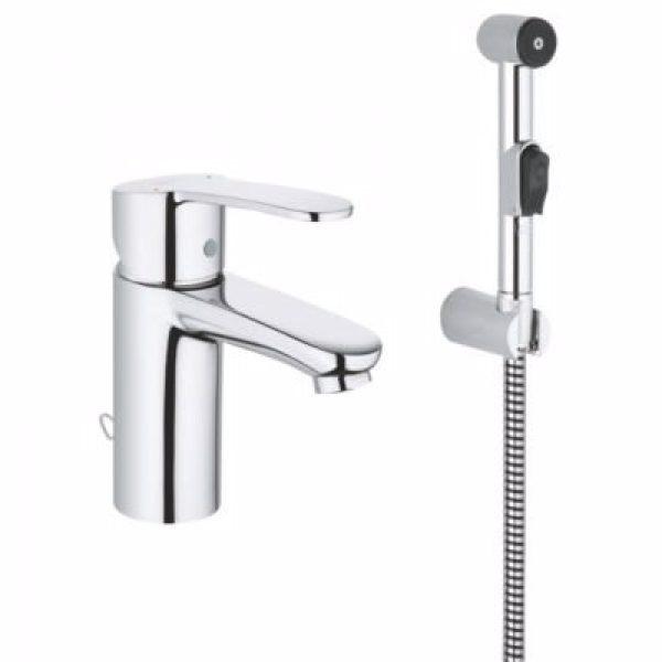 Grohe Eurosmart håndvaskarmatur S.size. Med håndbruser, 2015 model