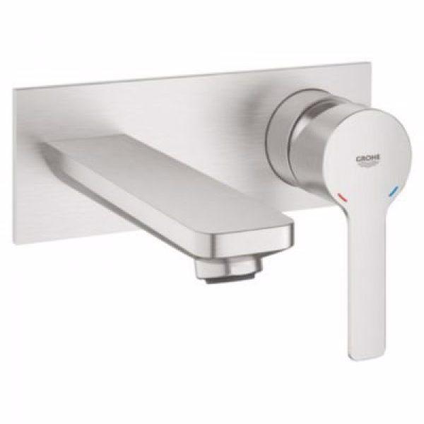 Grohe Lineare 2-huls håndvaskarmatur. Supersteel