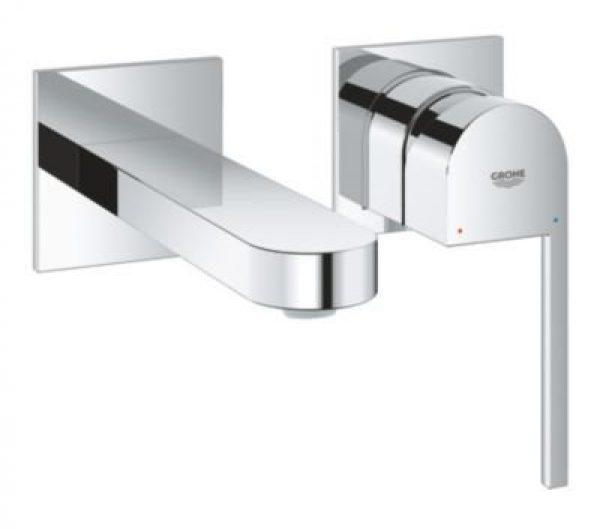Grohe Plus 2-huls håndvaskb. etgreb udv. t/hv/vægmont forkr
