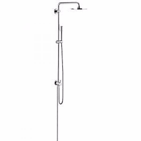 Grohe Rainshower Divertersystem med brusehoved Ø210 mm, krom