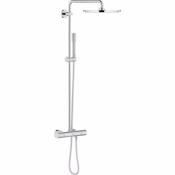 Grohe Rainshower system 310 Brusesystem med termostat til vægmonteri