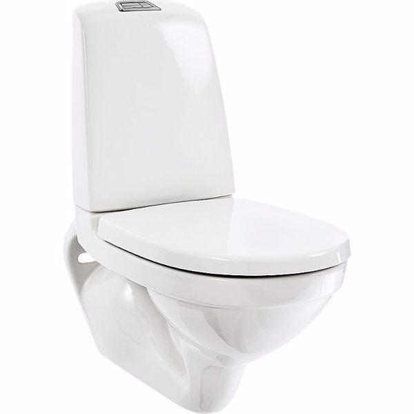 Gustavsberg Nautic Væghængt toilet 1522. Ceramicplus, Hygienic Flush