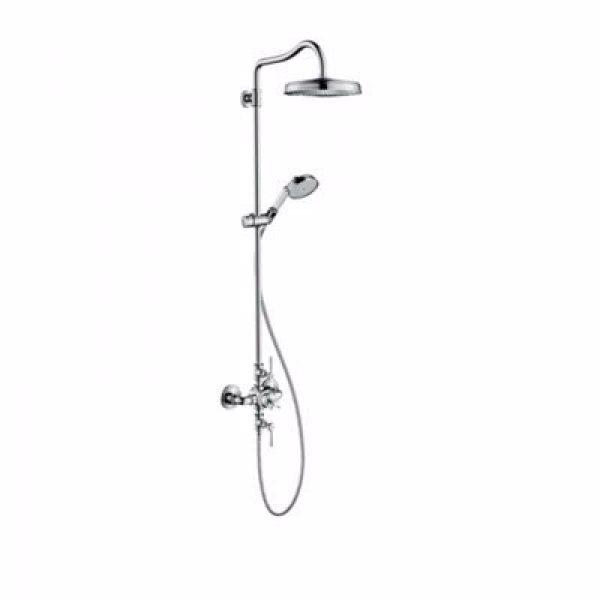 Hansgrohe AXOR Montreux Showerpipe med vingegreb. Krom