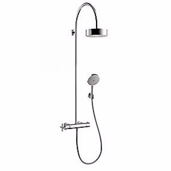Hansgrohe Axor Citterio Showerpipe, med termostat, krom
