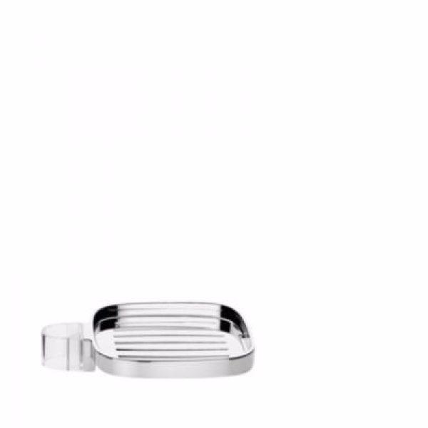 Hansgrohe Casetta E plastik sæbeskål til 22mm brusestænger