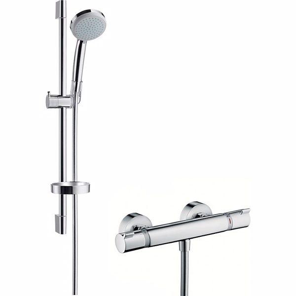 Hansgrohe Croma 100 Vario/Ecostat Comfort sæt 65 cm