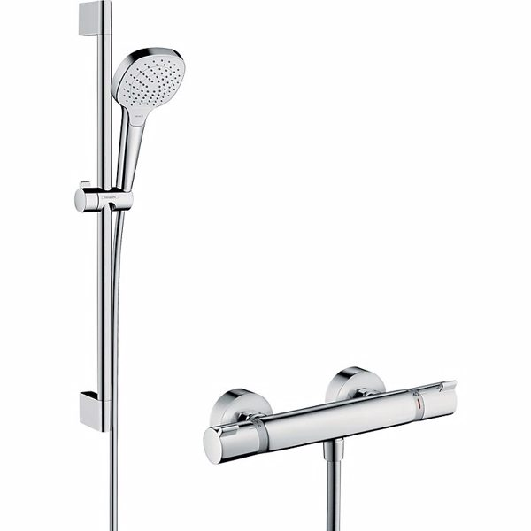 Hansgrohe Croma Select E Vario / Ecostat Comfort sæt 65 cm