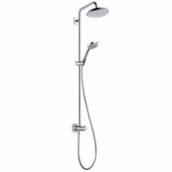 Hansgrohe Croma showerpipe Ø220mm. renovering. Krom