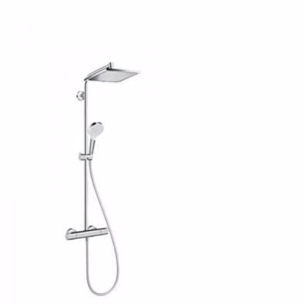 Hansgrohe Crometta E 240 EcoSmart showerpipe
