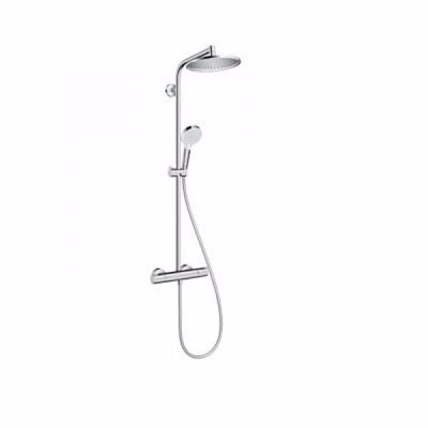 Hansgrohe Crometta S 240 EcoSmart Showerpipe, krom DIY