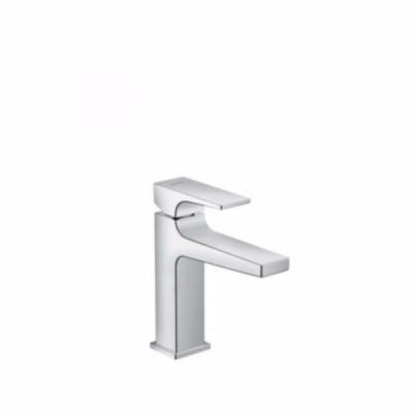 Hansgrohe Metropol 110 håndvaskarmatur med push-open bundventil. Krom